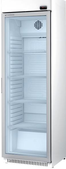vitrina vertical refrigerada