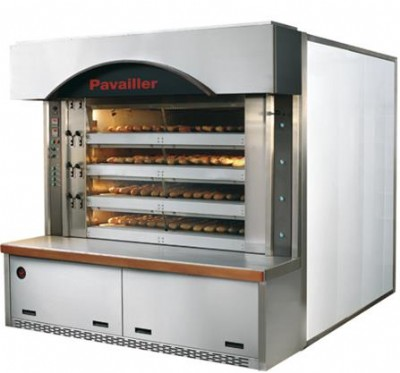 Hornos ciclotermicos maquinaria de panaderia pasteleria for Hornos de vapor industriales precios