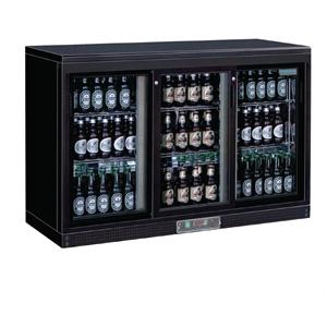 Enfriador expositor de bar puertas corredizas 273 botellas Polar