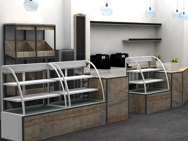 Mobiliario y decoraci n panaderia pasteleria for Muebles terraza segunda mano