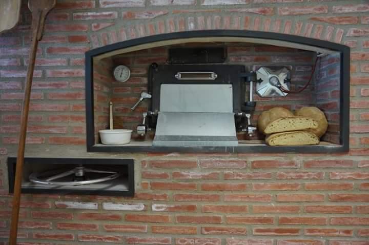 Horno giratorio de le a para panaderia y pasteleria - Chimeneas para hornos de lena ...
