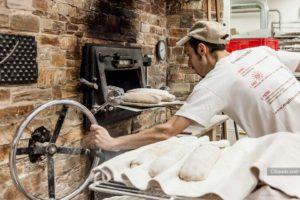 Horno Giratorio de Leña para panaderia y pasteleria