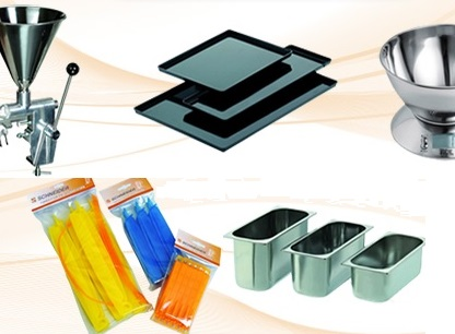 Utensilios y equipamiento para pasteleria