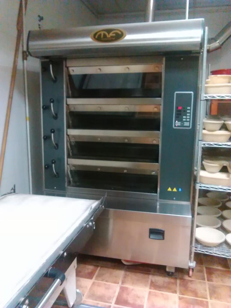 Horno mondial forni segunda mano maquinaria panaderia for Horno hosteleria segunda mano