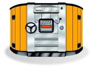 horno giratorio acero