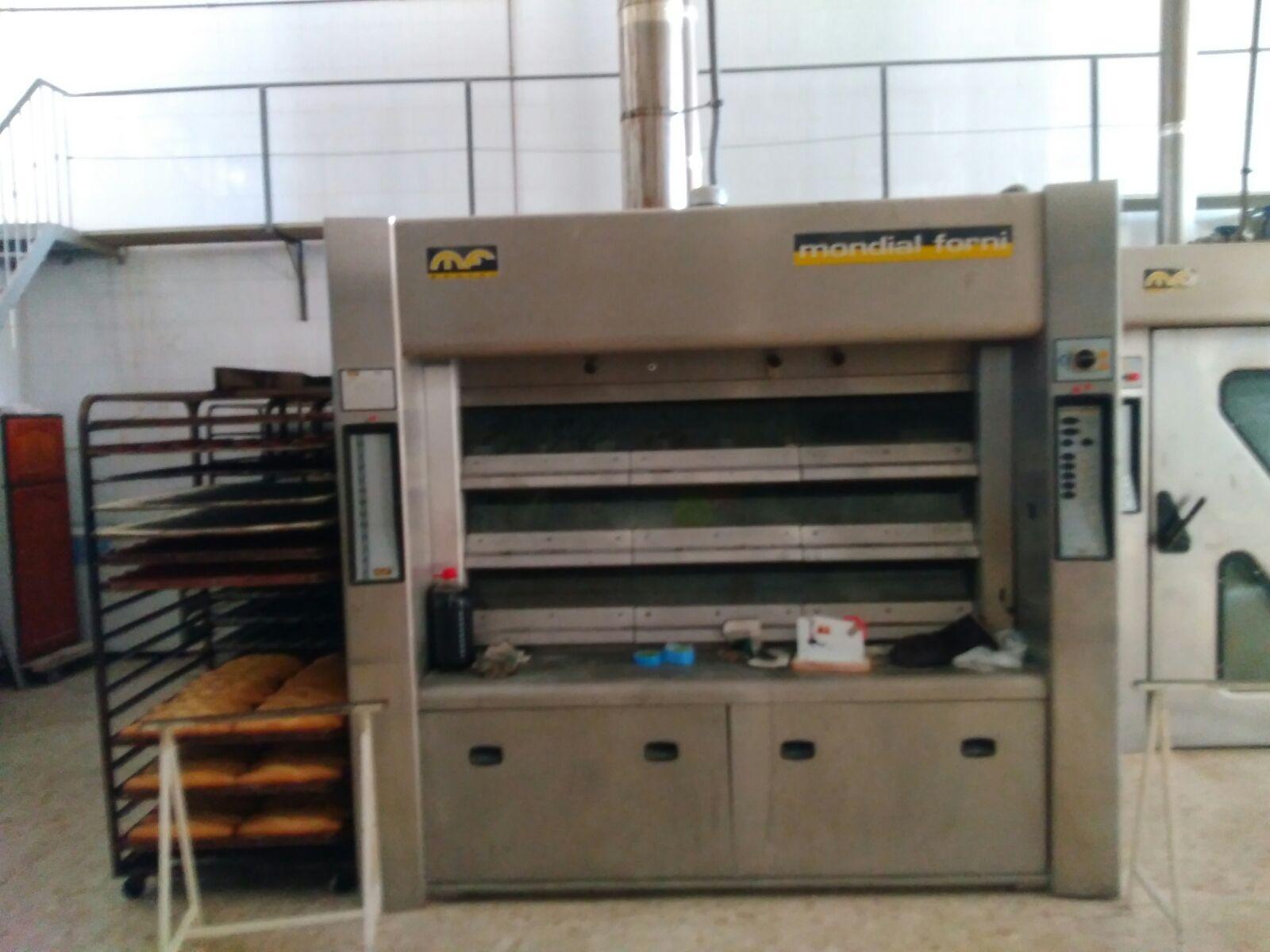 Horno pisos mondial forni segunda mano maquinaria panaderia for Horno hosteleria segunda mano