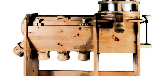 Molino comercial con máquina de tamizar GMSM 40